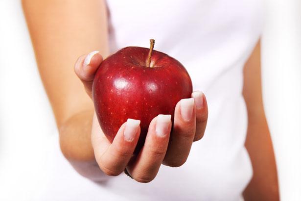 Ao mestre com carinho: a maçã como presente