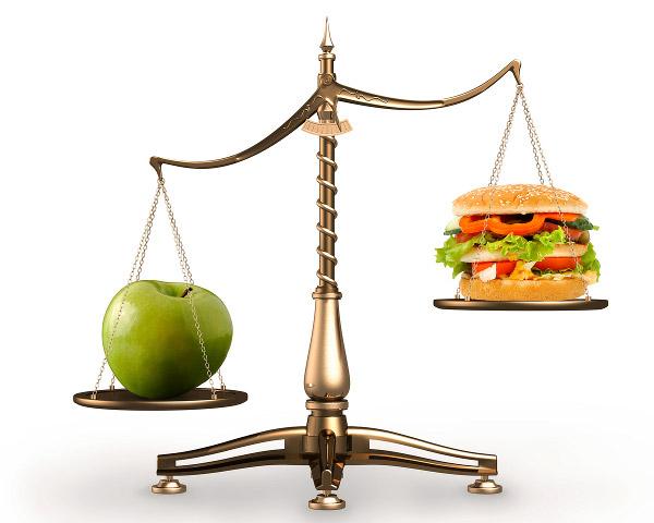 Equilíbrio na dieta: o saber dosar