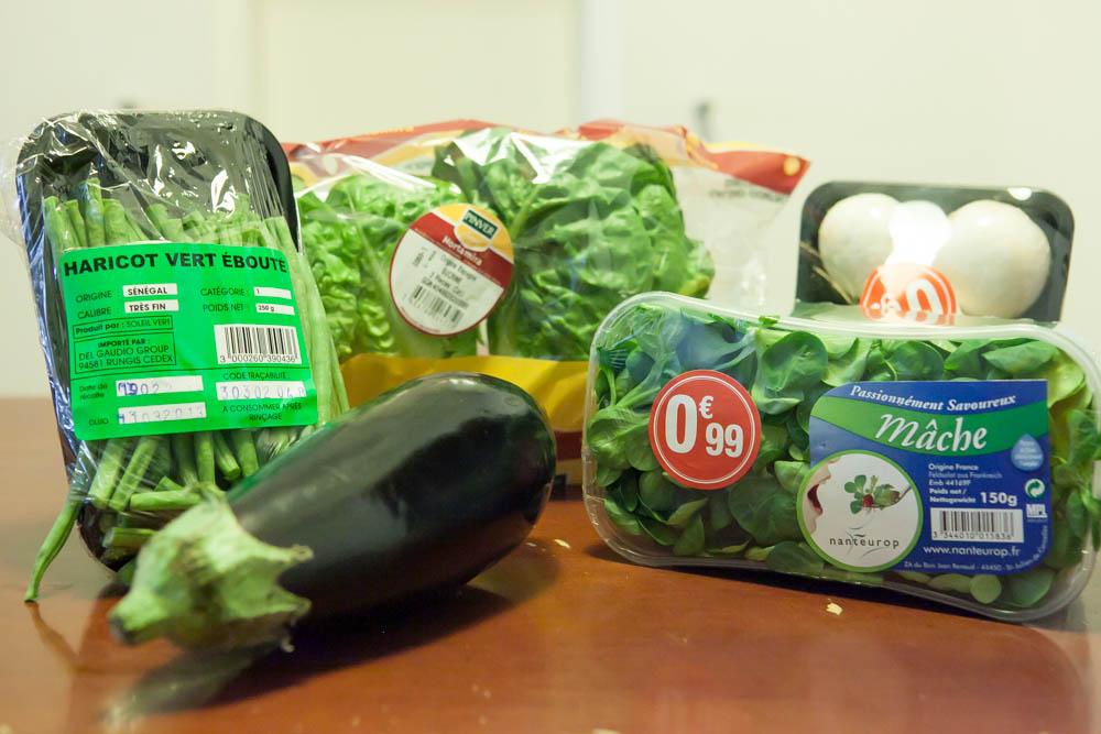 Compras no supermercado: Paris