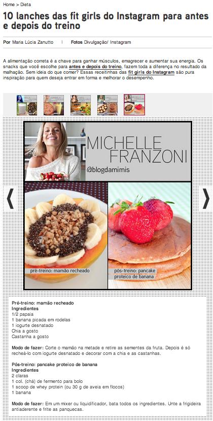 michelle franzoni clipping blog da mimis midia