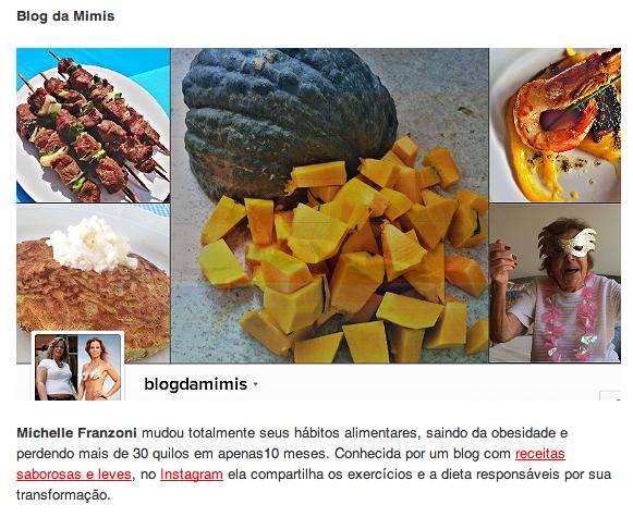 michelle franzoni midia clipping blog da mimis