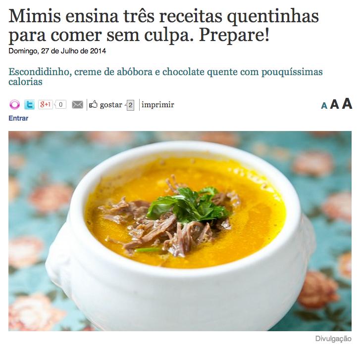 blog da mimis clipping michelle franzoni r7 dieta