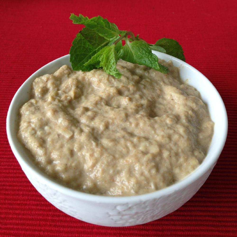 Babaghanoush: saudável berinjela na culinária árabe