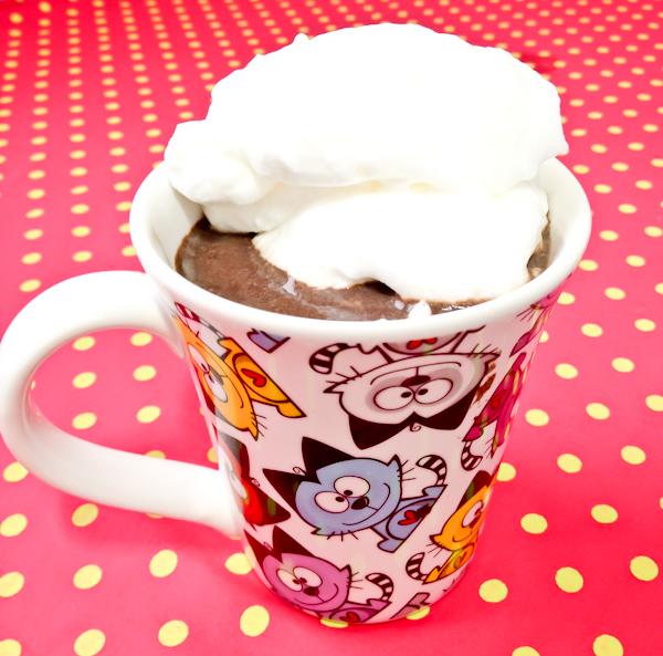 Chocolate quente proteico light