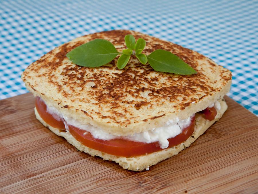 Pão de microondas: receita Dukan
