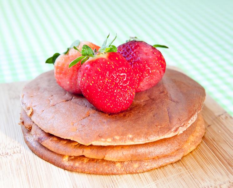 Pancake proteico de banana
