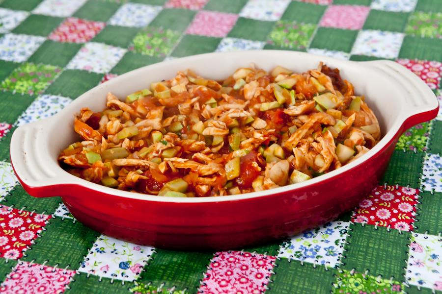 Refogadinho de frango com legumes