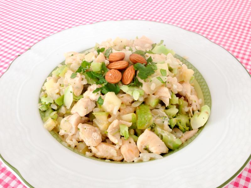 risoto de frango light  dieta michelle franzoni blog da mimis_