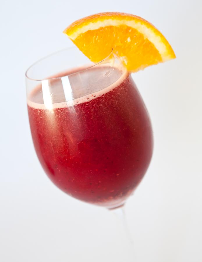 Suco vermelho antioxidante