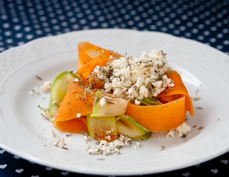 Salada chique de legumes