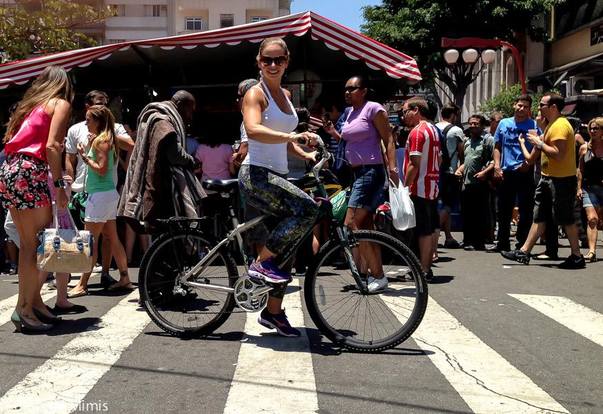 Bike em Sampa: pedalando na ciclofaixa