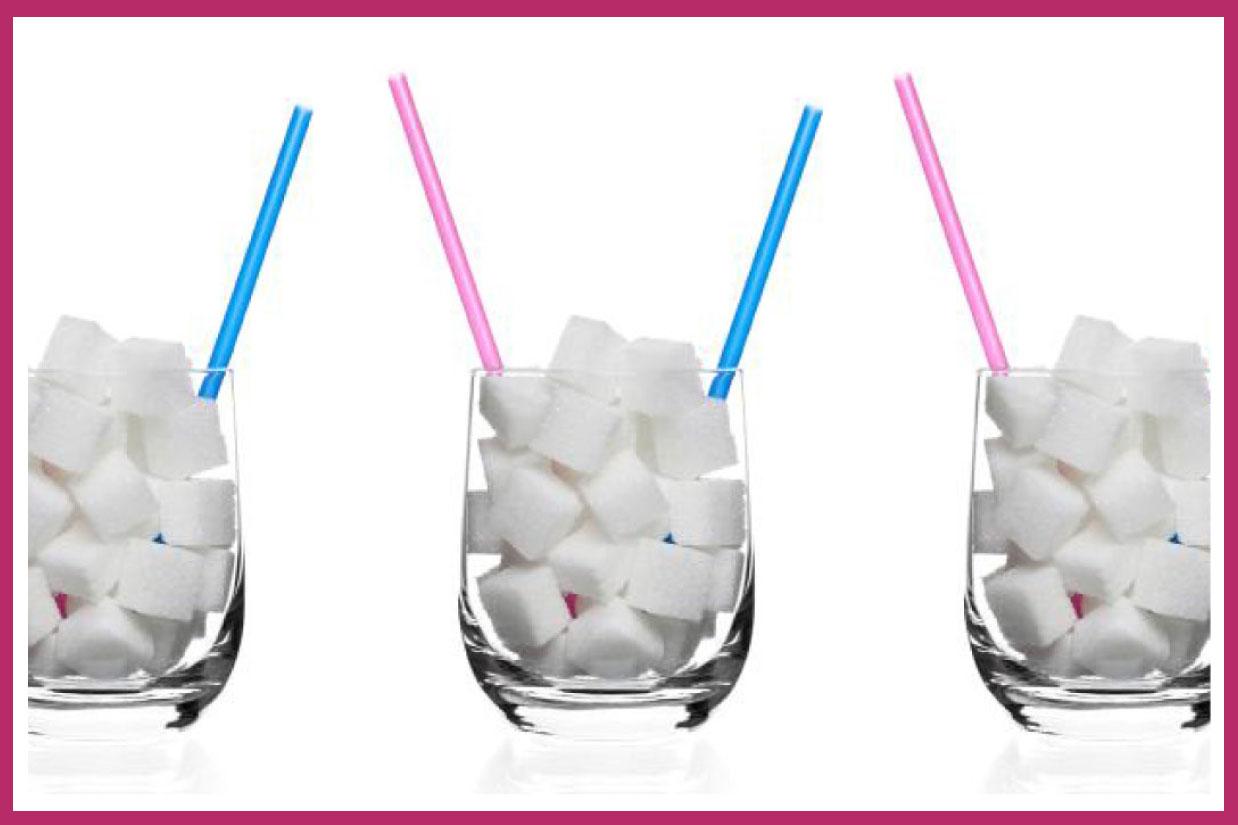 Quanto açúcar você bebe?