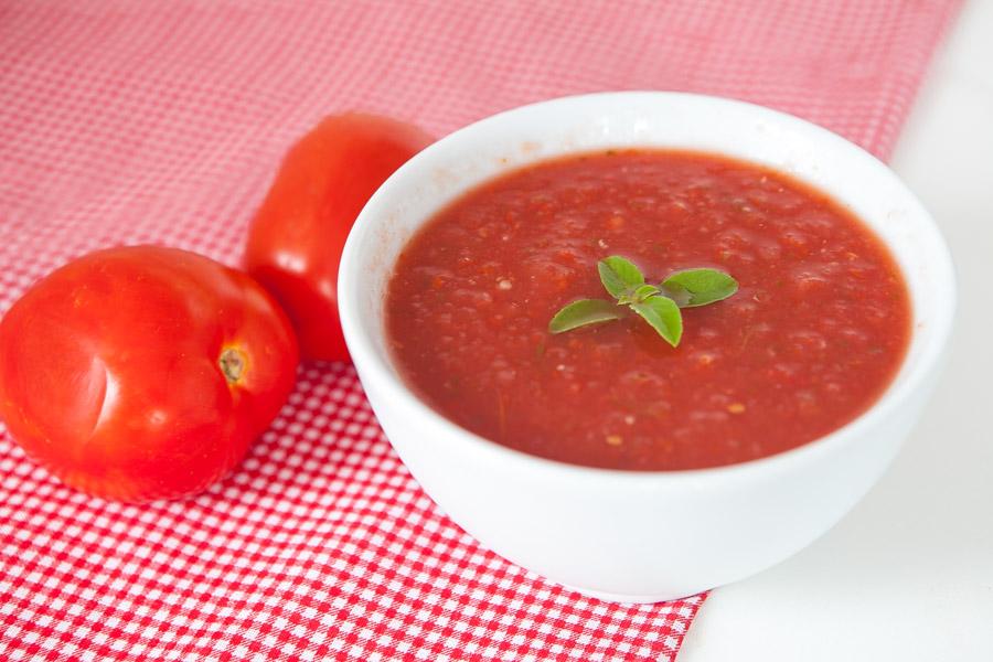 Molho de tomate caseiro