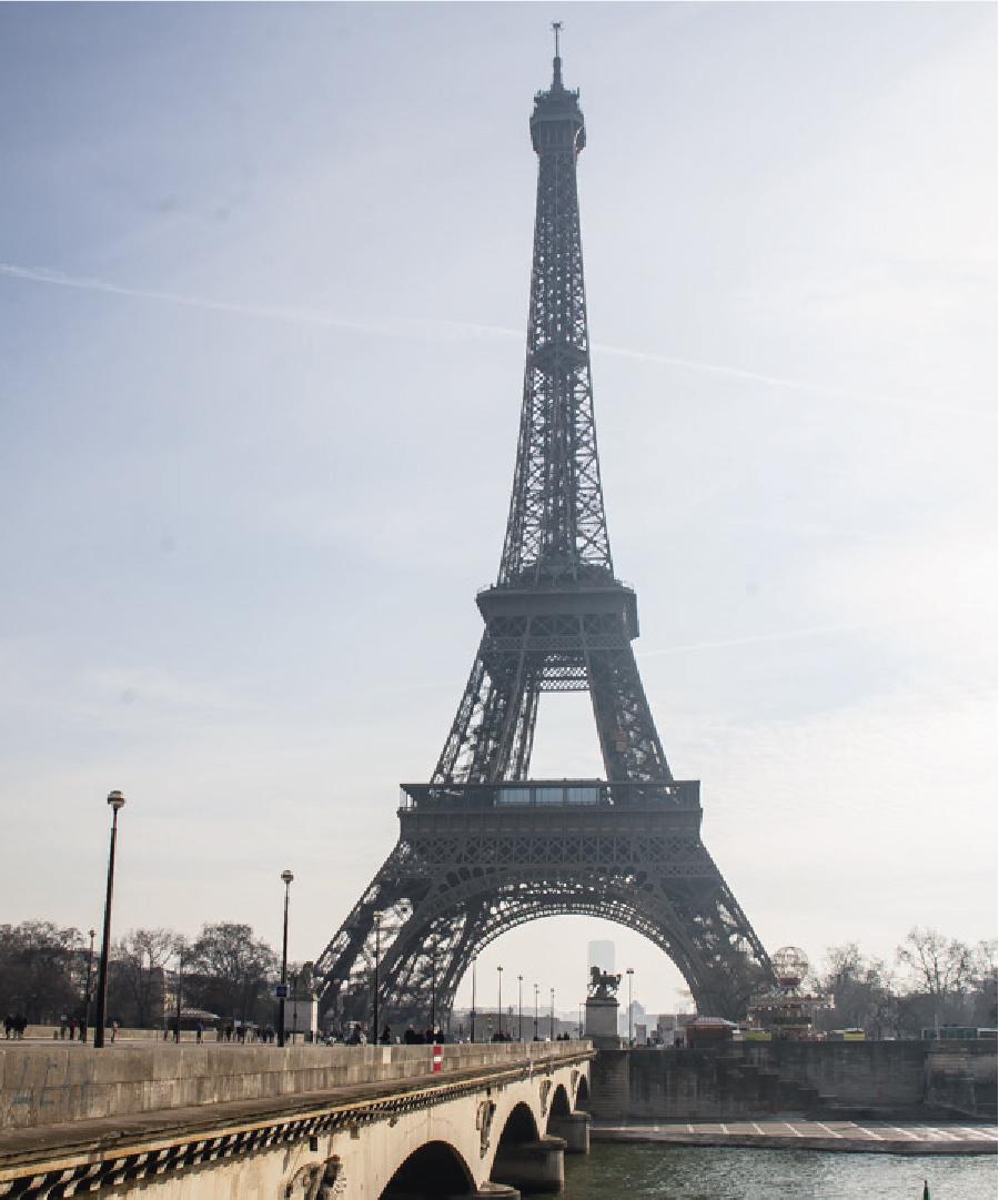 Um dia perfeito em Paris