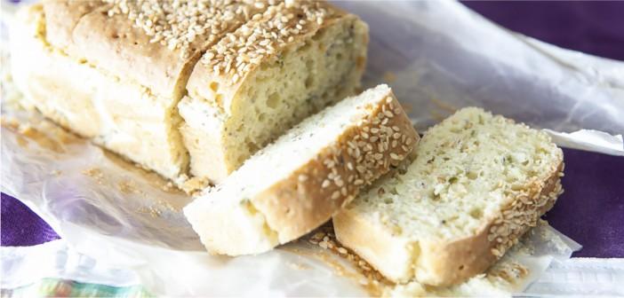 Pão integral de liquidificador
