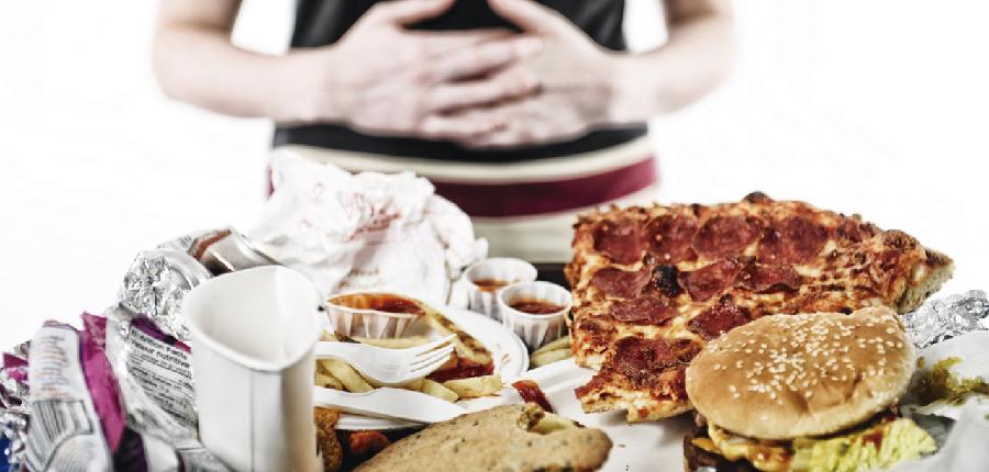 Ressaca de comida