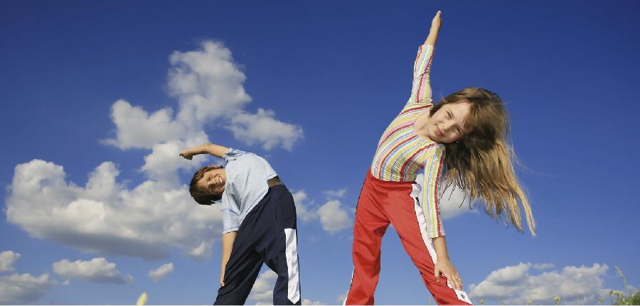 Por que as crianças precisam fazer exercício?