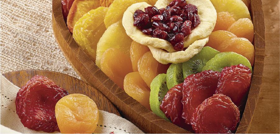 Frutas secas na dieta saudável