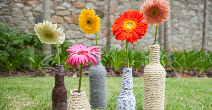 DIY: Vasinhos charmosos