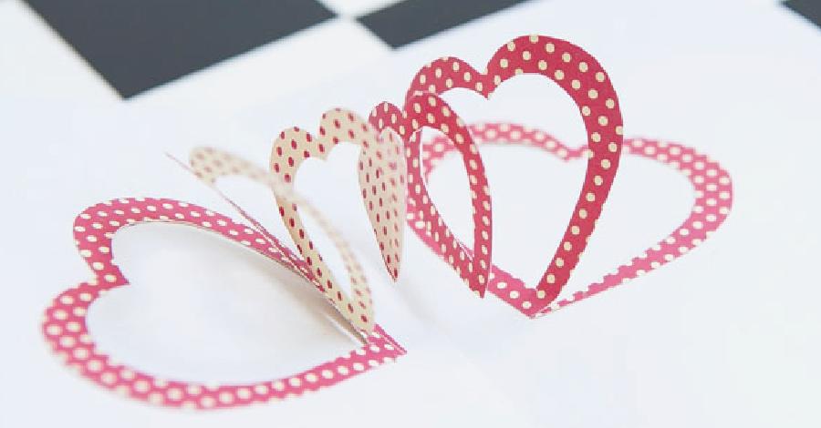 DIY- Cartão de dia dos namorados feito por você