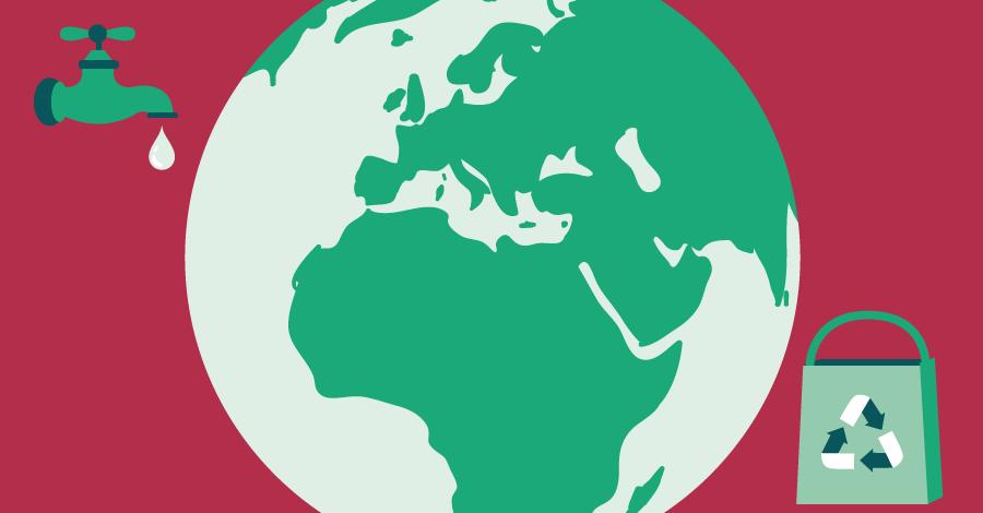 10 Atitudes sustentáveis para um mundo melhor