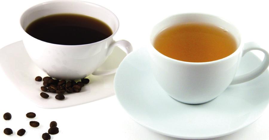 Escolha certa: café ou chá?