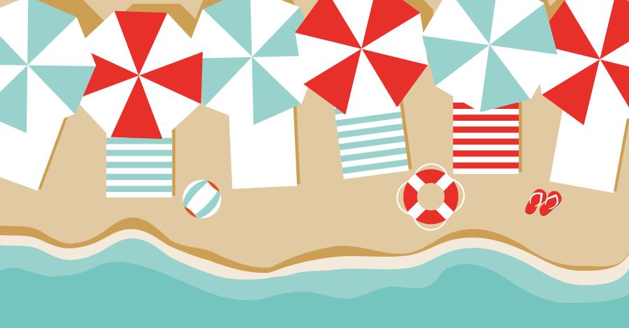 Praia saudável: dicas para escolher o lanche certo