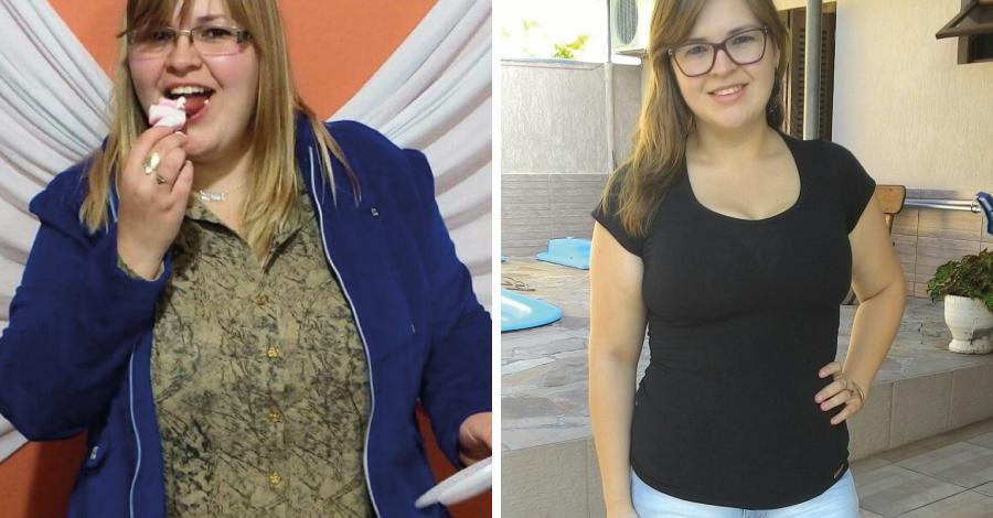 """Superação Fernanda: """"emagreci 40kg sem sofrimento"""""""