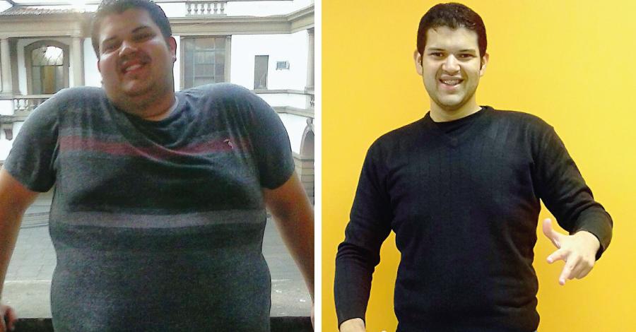 Superação Anderson: menos 62kg em 10 meses e mais autoestima