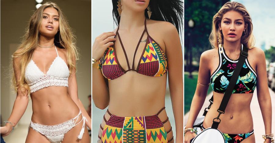 Biquínis desejo: as tendências de moda para o verão 2017