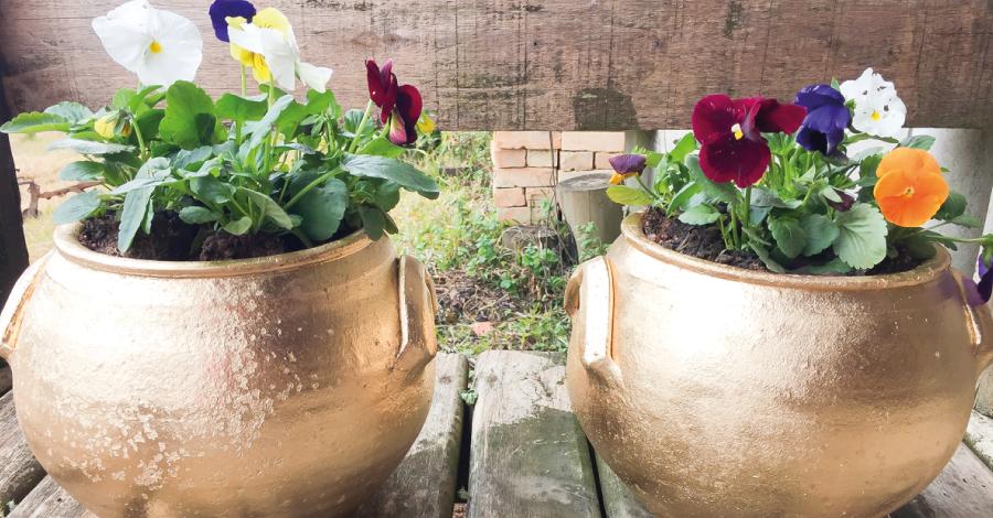Restauração: transforme seu vaso velho em uma linda peça