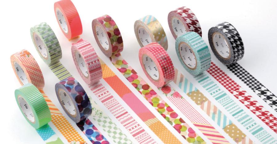 Washi tape: decoração descolada com fita adesiva