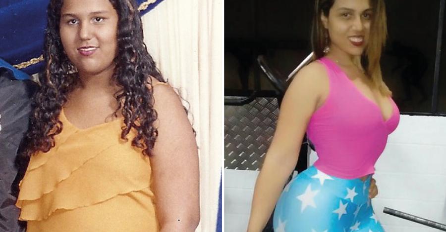 Superação Flávia: ela venceu a obesidade e a anorexia