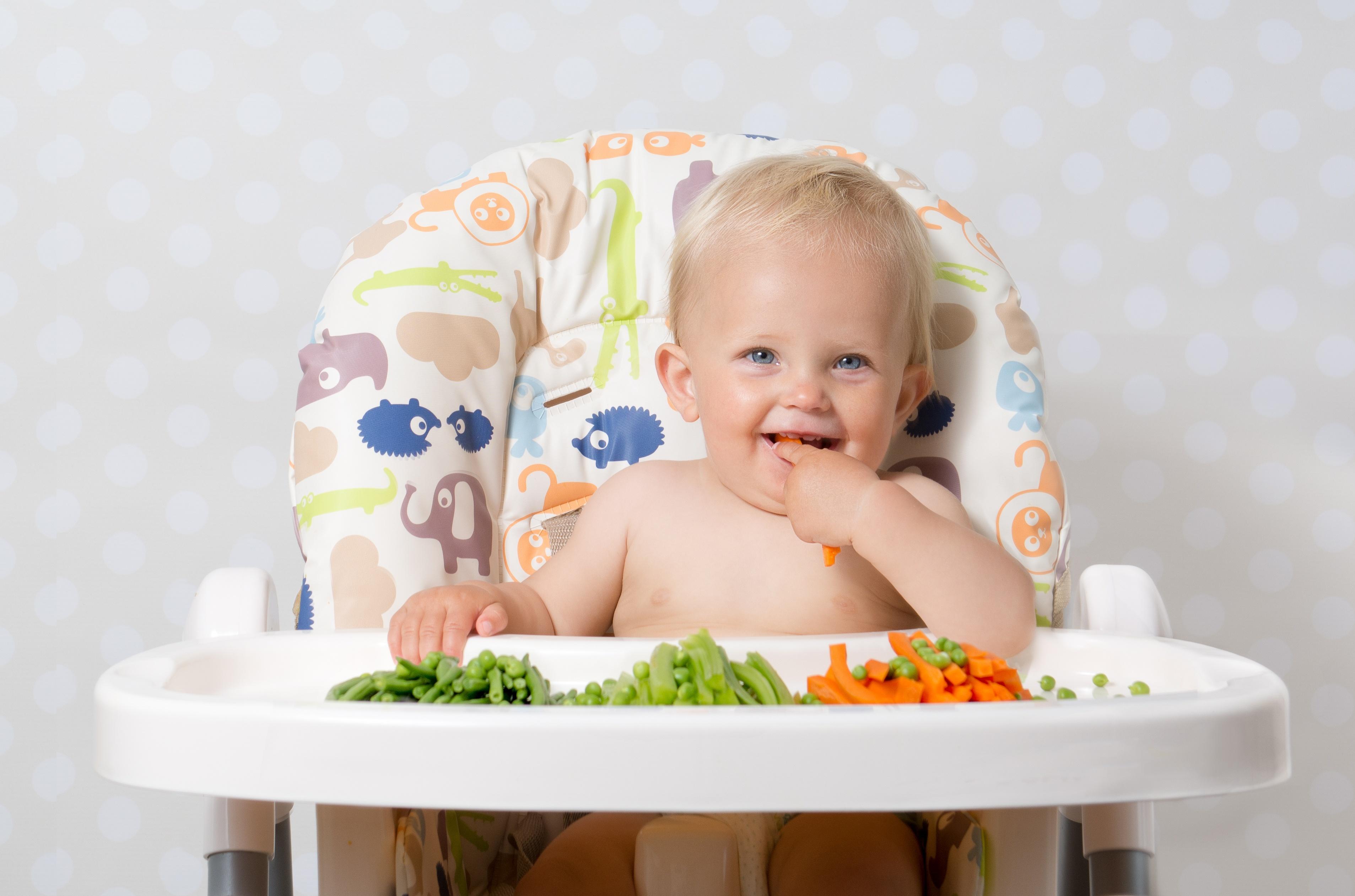 Método BLW: introdução alimentar para bebês