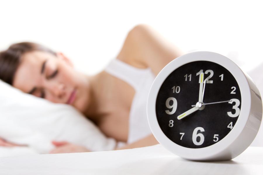 Horas de sono por idade
