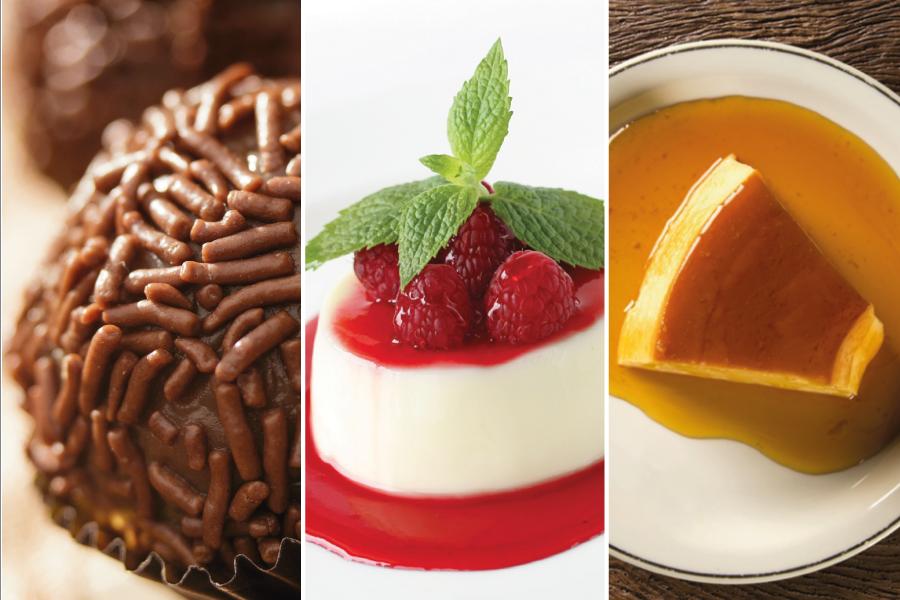Cardápio de doces: faça a escolha mais saudável