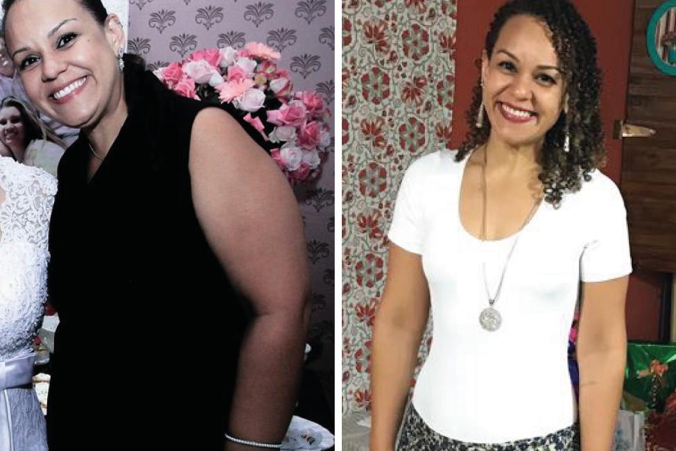 Superação Patrícia Batista: 28Kg a menos com reeducação alimentar e exercícios