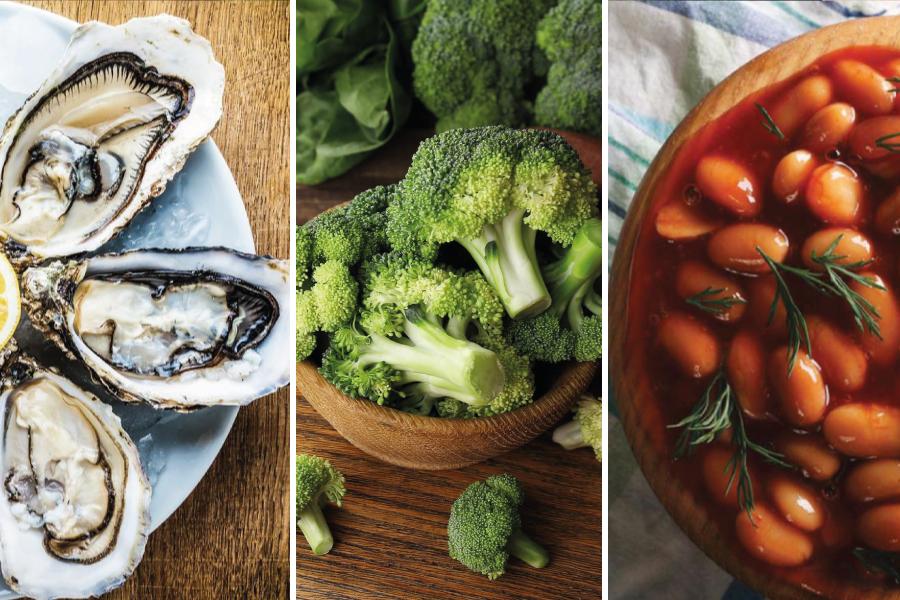 Alimentos essenciais para a saúde do homem
