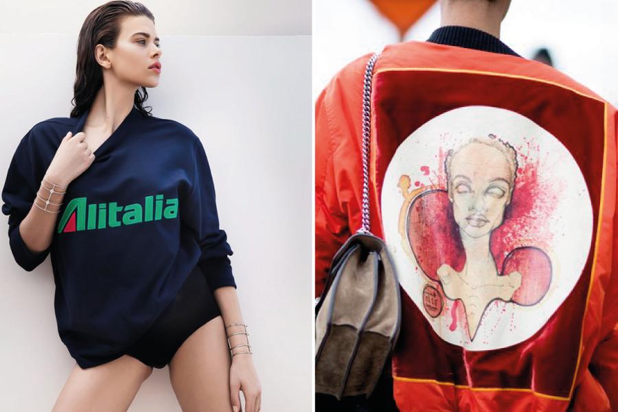 Beauty news de agosto: jaquetas-quadros e conceito logomania