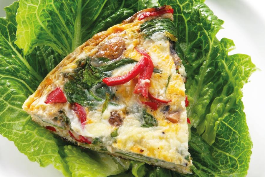 Omelete fácil de forno