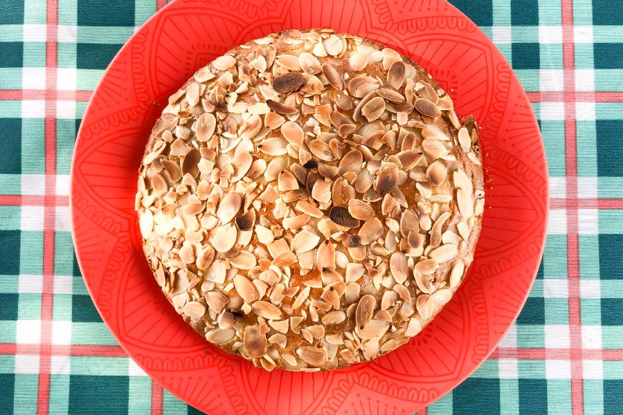 Torta de amêndoas lowcarb