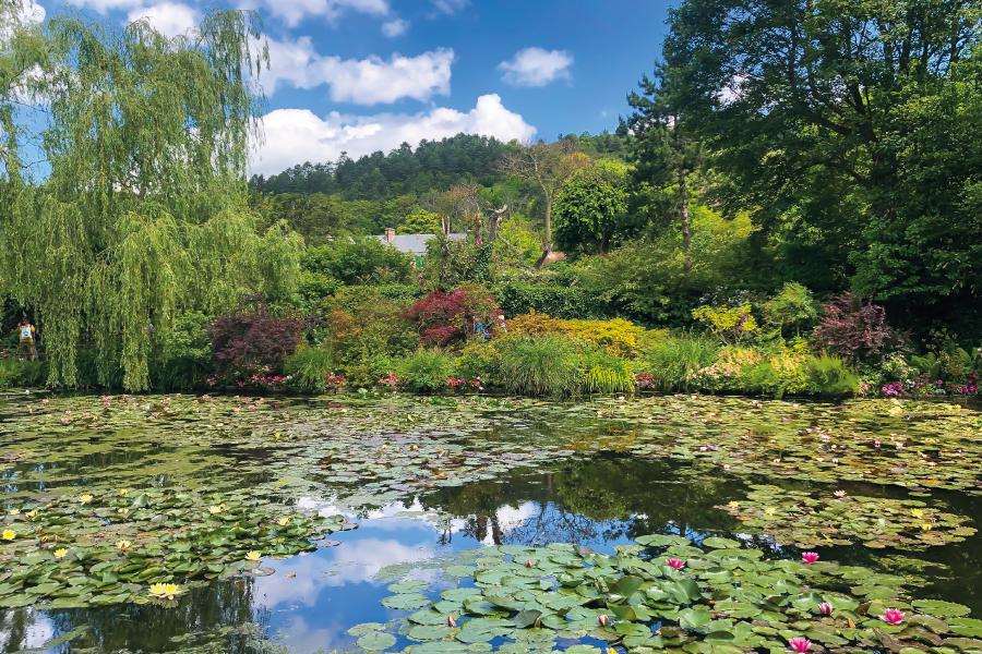 Bate e volta de Paris: os Jardins de Monet em Giverny