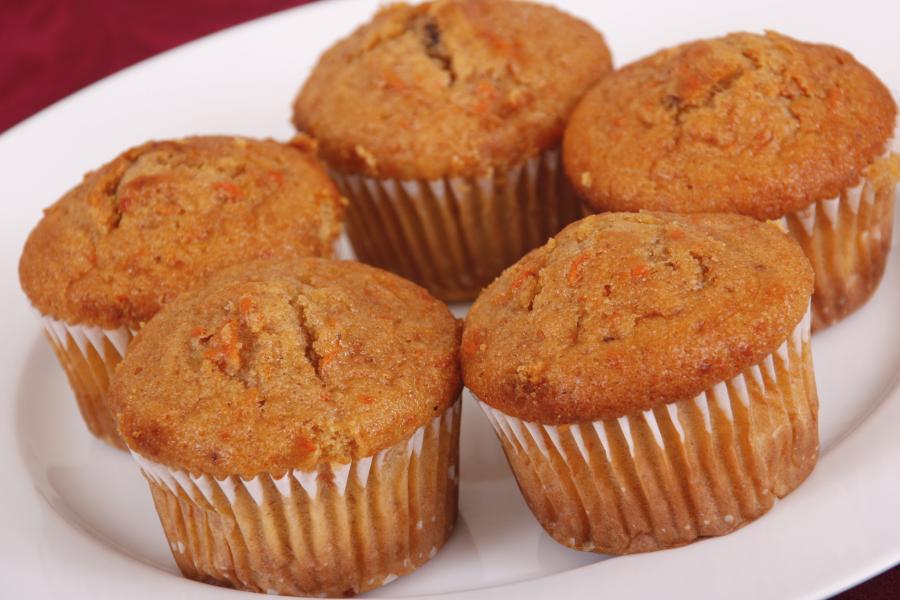 Muffin funcional de cenoura