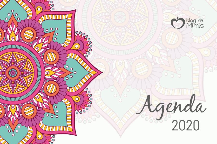 Agenda 2020: planner para imprimir