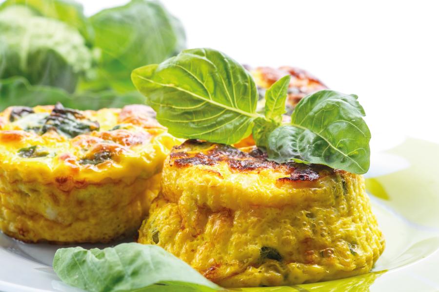 Muffin proteico de Legumes