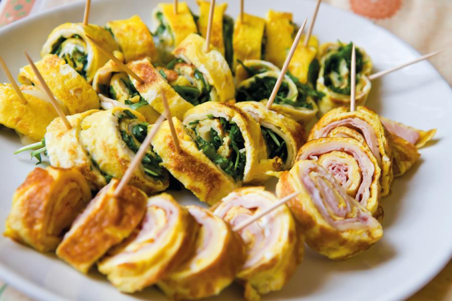 Omelete japonesa
