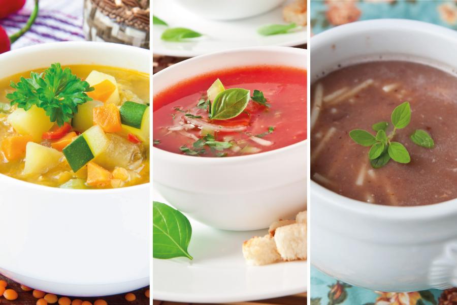 10 sopas e caldos para os dias frios