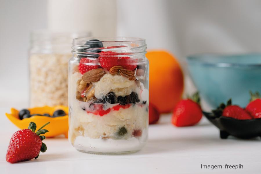 5 receitas de overnight oats e seus benefícios